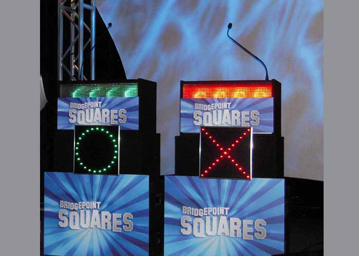 Celebrity Squares Contestant Positions