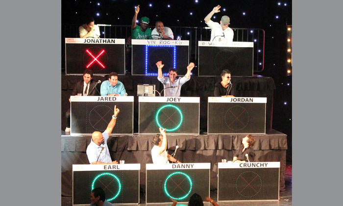 NKOTB Celebrity Tic Tac Toe-Fun with NKOTB