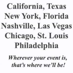 The Game Show Source in California-Texas-New York-Florida-Nashville-Las Vegas-St Louis-Chicago-Philidelphia
