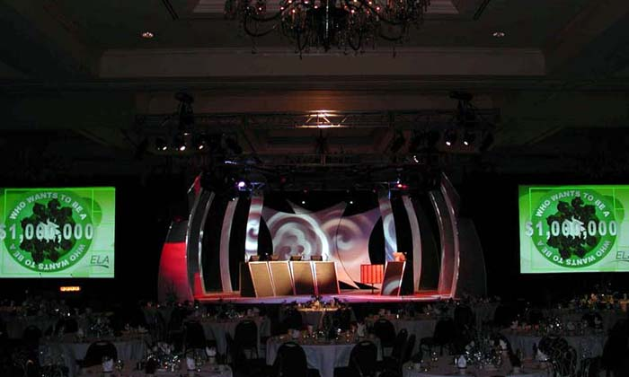 Millionaire Game Show for Corporate Event