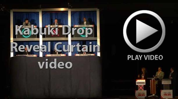 Kabuki Drop Curtain Reveal