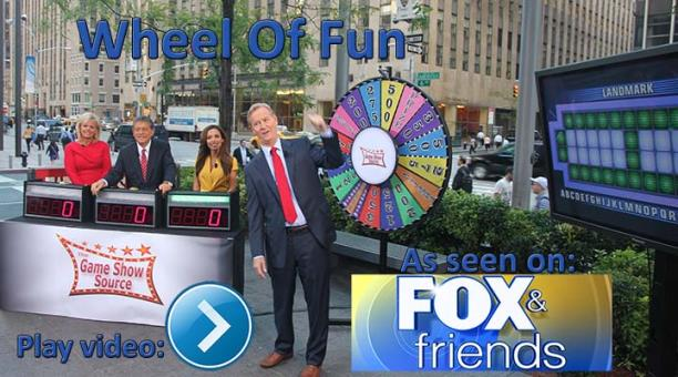 Wheel Of Fun as seen on Fox & Friends-Fox News Channel