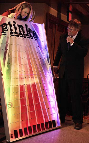 Plinko in action