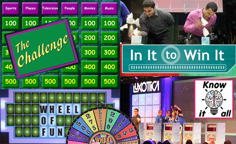 TV Style game shows for events