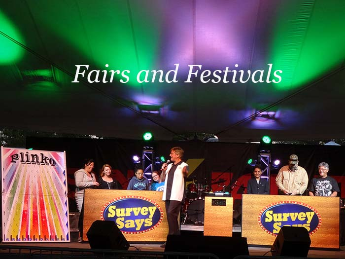 Game Shows for Fairs and Festivals