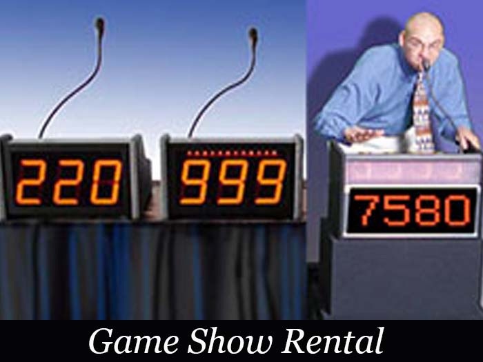 Game Show Equipment Rentals