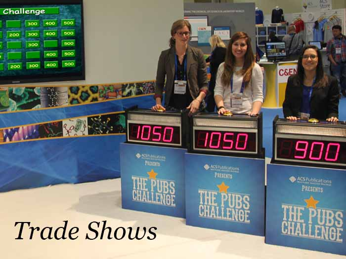 Game Shows for Trade Show Traffic Building