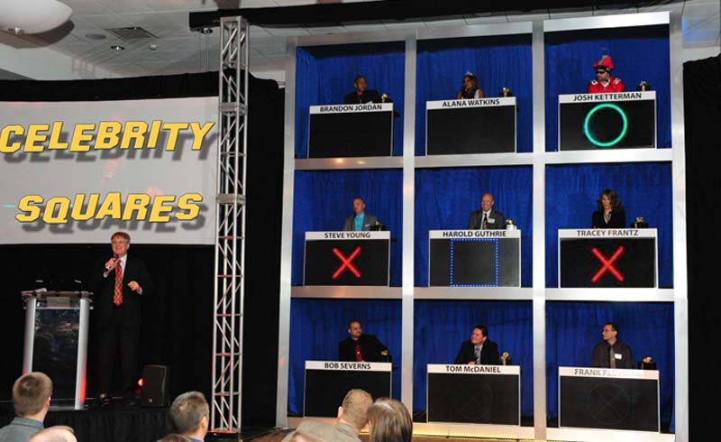 Celebrity Squares-Hollywood Game Show for trade show