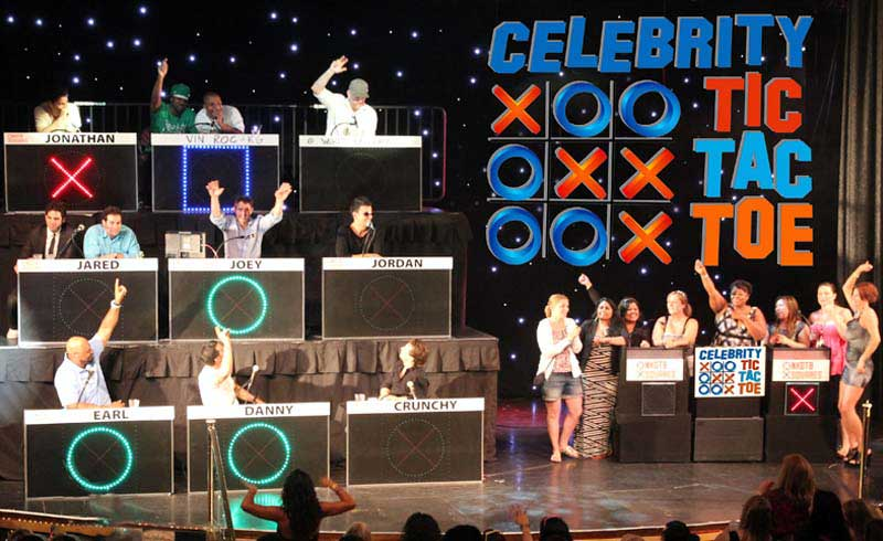 Celebrity Tic Tac Toe-Awesome Game Show for trade show