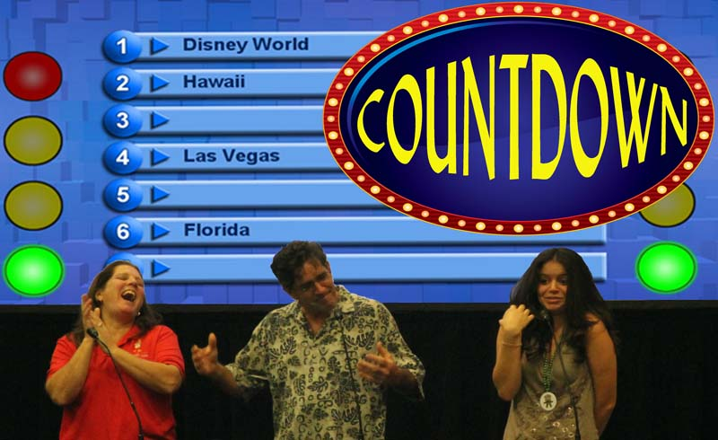 Countdown-Fast Paced Game Show for traffic building at trade show