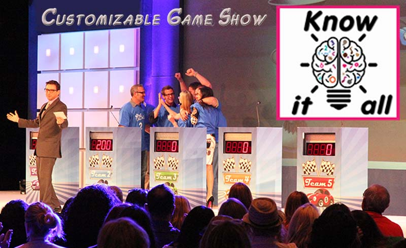 Know It All-Customizable Game Show for trade shows