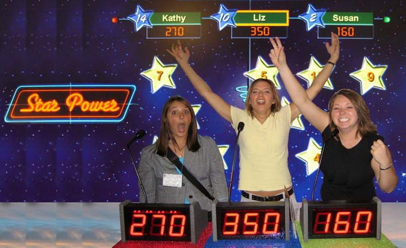 Star Power-Game of knowledge and luck at trade show