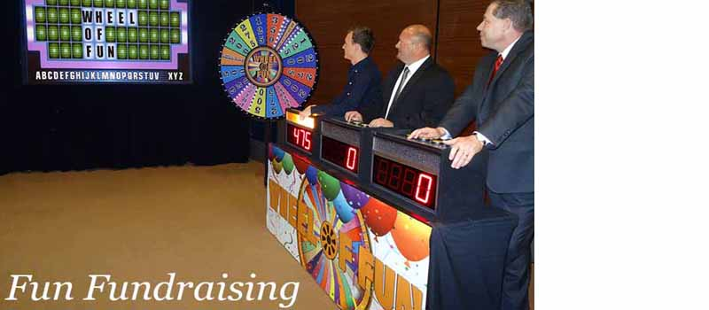 Fun fundraising game shows.