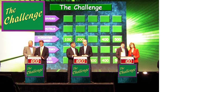 The Challenge-long running popular game show