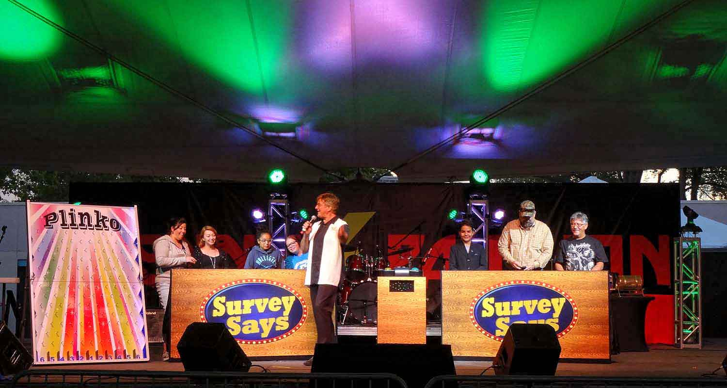 Fun Game Show for fairs and festivals